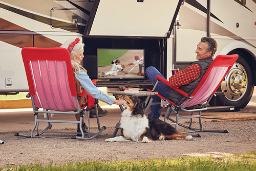 Watch DISH TV Outdoors in the RV- LEBANON, Oregon - WIRTH WIRELESS - DISH Authorized Retailer